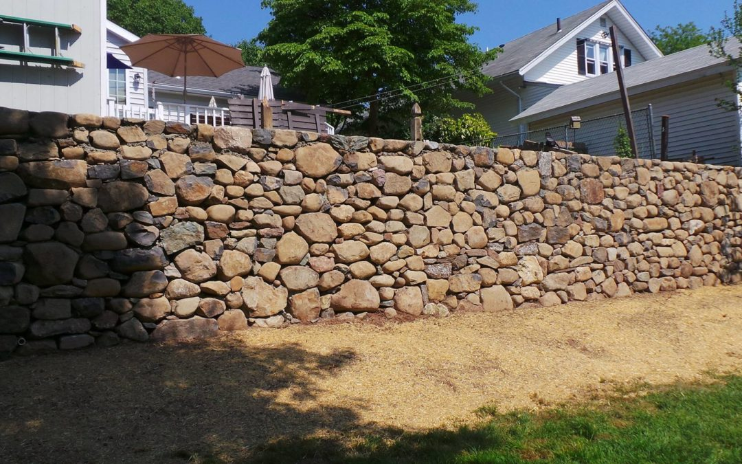 Orange, New Haven, CT – Stone Walls, Retaining & Decorative Walls, Stone Masonry